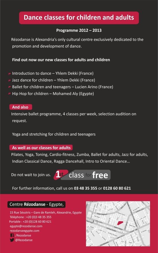 Programme 2012-2013