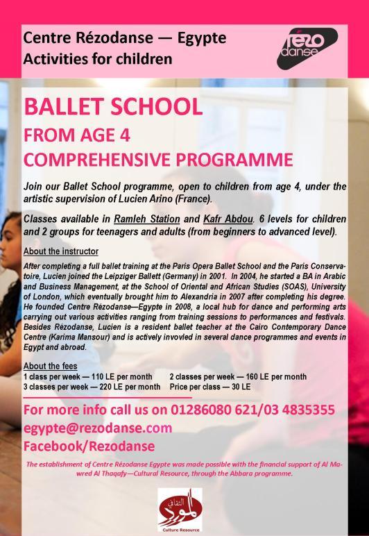 POSTER_Ballet School_SEP2013